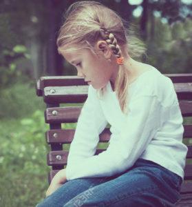 Childhood Trauma Young Girl